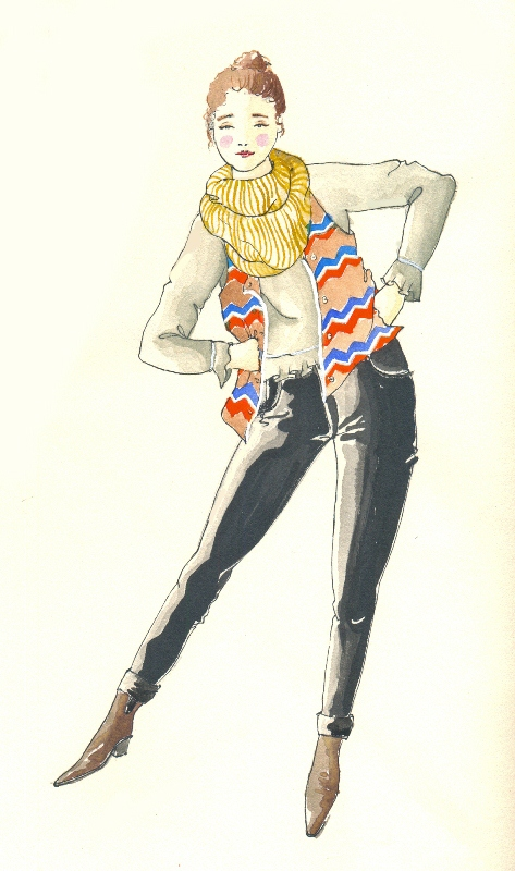 Desenho De Moda Fashion Drawning On Behance