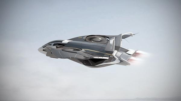 Sting R12 Vtol Aircraft Concept On Behance