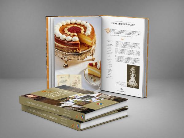 Vorstelijk Tafelen book royal family dutch Willem I maxima WIllem Alexander Dries van Agt Albert Tielemans Nico de Rooij Janny de Moor Hart van Nederland SBS6 culinair jeroen rijpstra