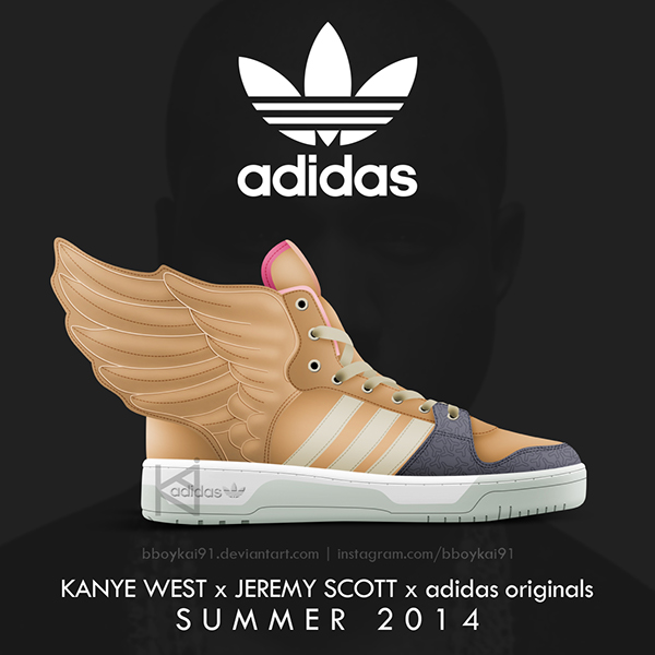 Kanye West x Jeremy Scott x adidas originals on Behance