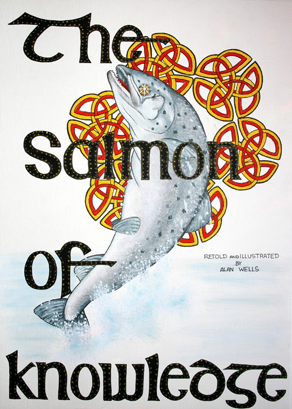 The Salmon Of Knowledge On Behance