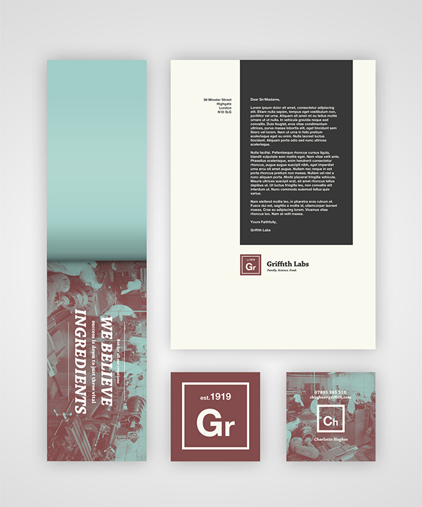 Food and science rebrand on behance the samples and sample box a designed to fuse the food and science aspect of the company the branding of periodic table style logos are consistent urtaz Choice Image