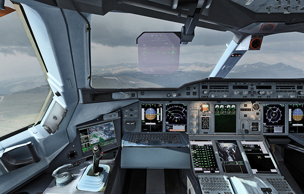Airbus A380 Cockpit On Behance
