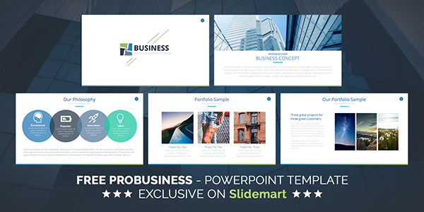 Free probusiness keynote presentation template on behance toneelgroepblik Choice Image