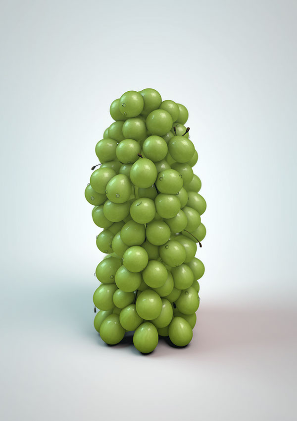 grapes,cinema4d