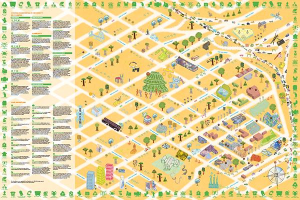 Vcu Green Map On Behance