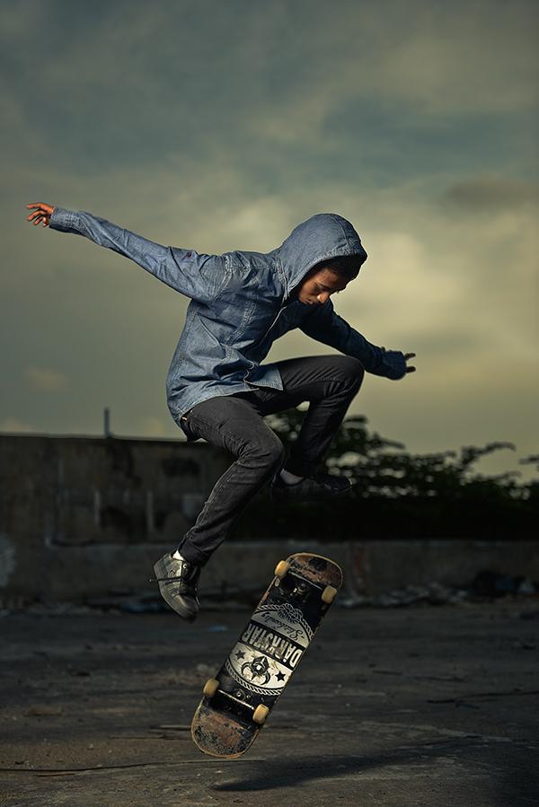 skate Maldives skaters Nikon Elinchrom SydSujuaan Male' strobist