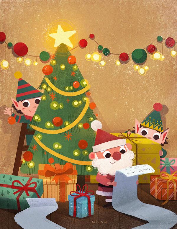 精細的32套聖誕節圖片欣賞