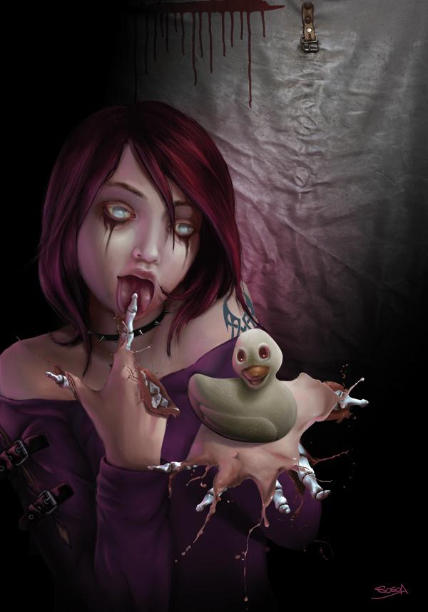 painter,Character,portrait,sin,pêche,seven deadly sins,digital,zombis