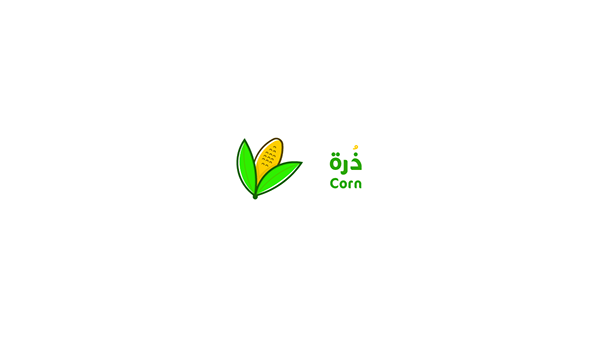corn logo design on behance behance