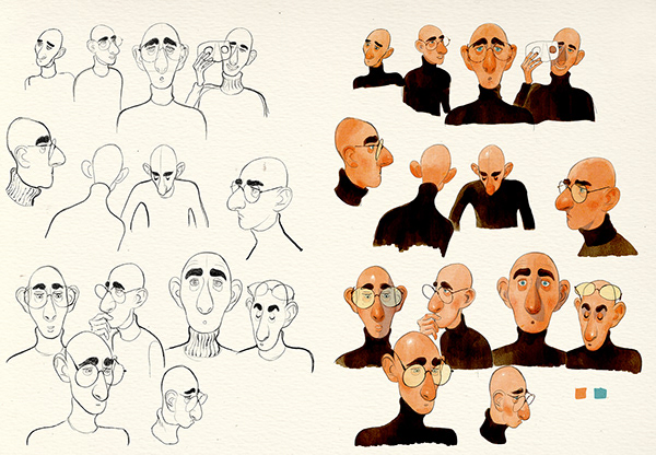 Character design and studies
