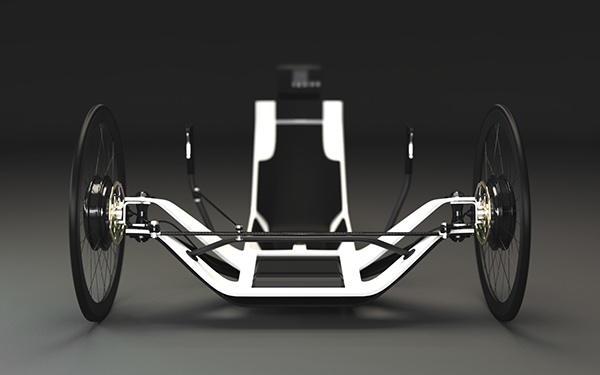 Electric Recumbent Trike Concept On Behance
