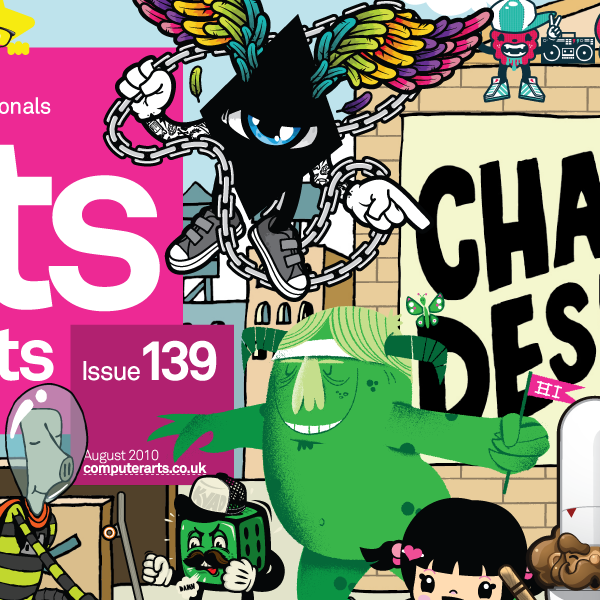Computer Arts Character Design Pdf : Computer arts project cover july th character design on