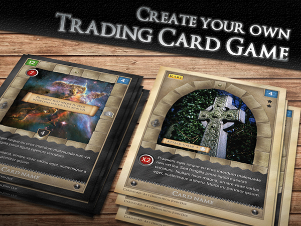 TCG - Fantasy Trading Card Game Kit in Medieval on Behance