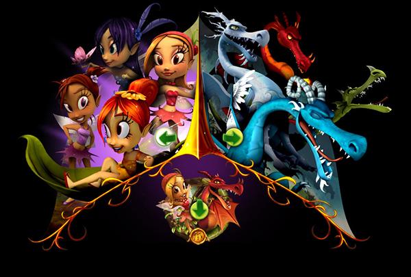 fairies dragons fuel entertainment on behance