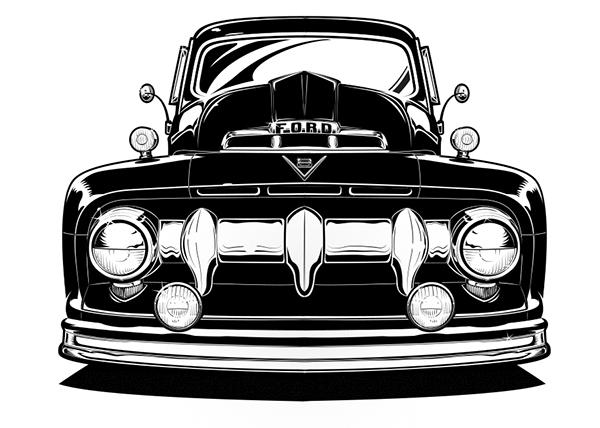 Ford Illustration