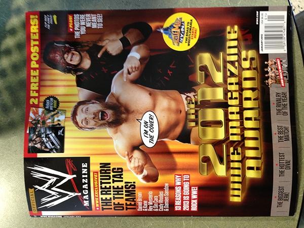 WWE Wrestling comics magazine
