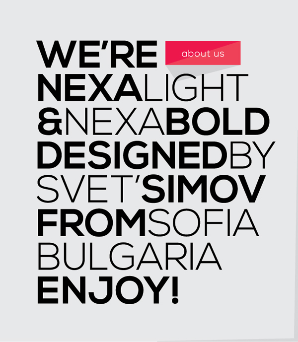 Free font free fonts free download cool nice not new contemporary font Typeface light bold fresh logo brand