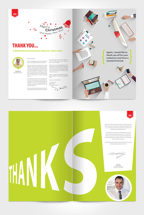 connect issue company internal newsletter on wacom gallery