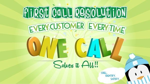 First Call Resolution Poster on Behance