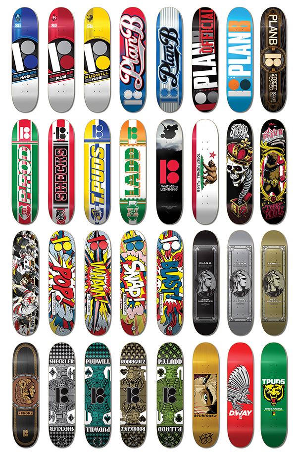 Planb Skateboards On Behance