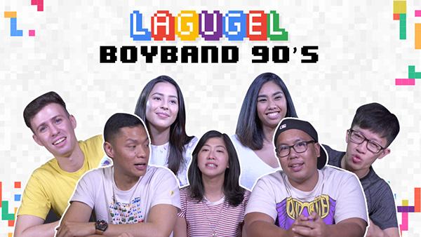 Lagugel series Boyband 90's