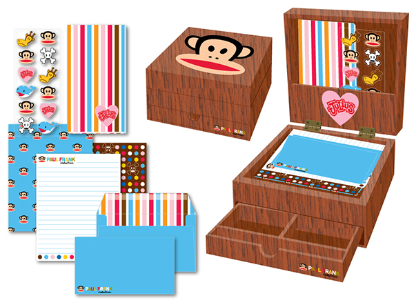Paul Frank Stationery Paul Frank on Behance