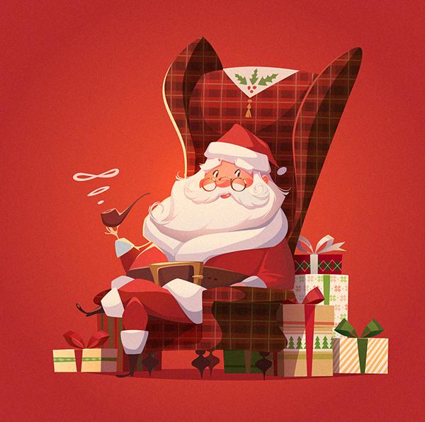 有美感的27款聖誕卡片欣賞