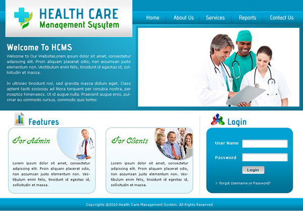 Summary -> Change Healthcare Data Management System Login Page