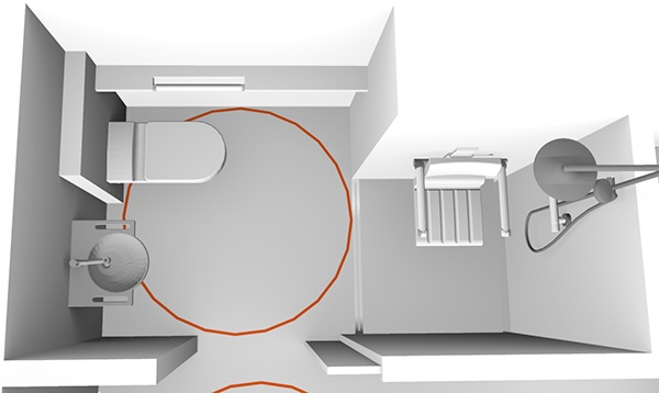 Universal Design Hotel Room For All 23m2 On Behance