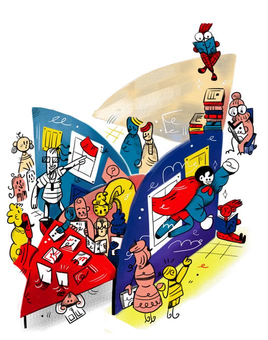 Digital Art  ILLUSTRATION  kommissia poster