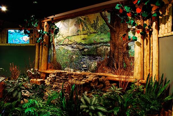 Arcadia Mural For Missouri Botanical Gardens 2014 15 On