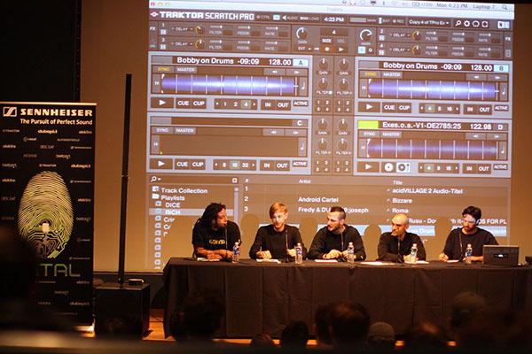 CNTRL richie hawtin loco dice america edm electronic dance music University tour Dance music techno ean golden Beyond EDM College Campus Tour sennheiser dubspot