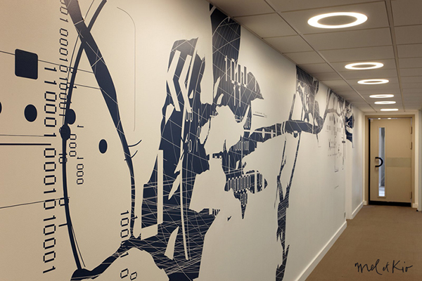 meletkio mel-et-kio pages-jaunes design-mural walldesign