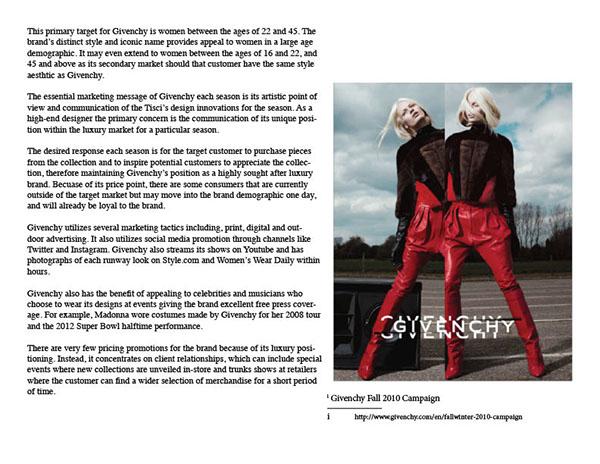 Marketing Givenchy Plan On Givenchy Plan Marketing Behance WBeQrdxCo