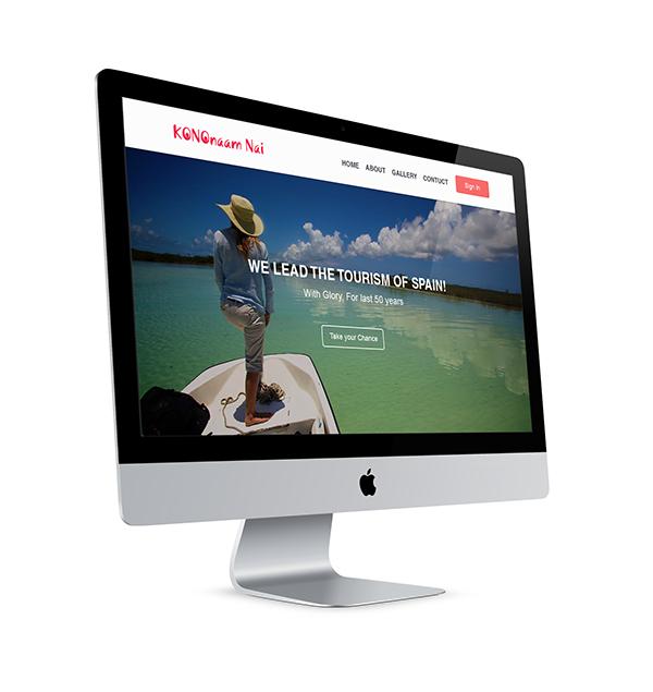 Website Travel Travel Website simple website