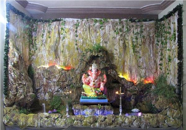 Set design talyatla ganpati 012 on behance for Decoration job in mumbai