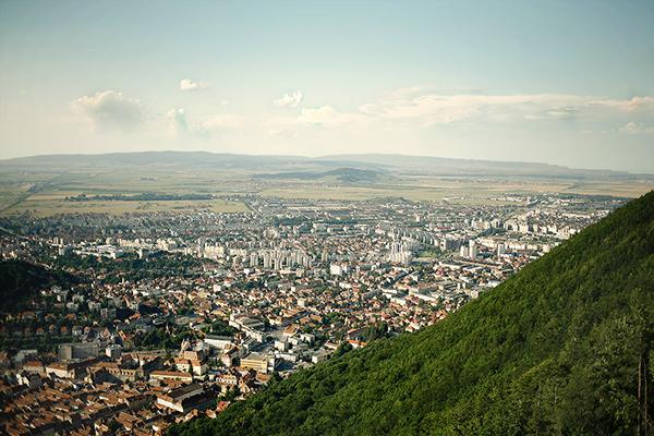 brasov city Bellvedere romania