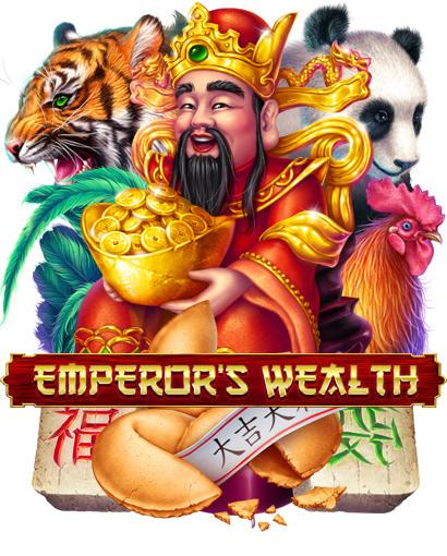 "Online slot machine for SALE – ""Emperor's Wealth"" on Behance"