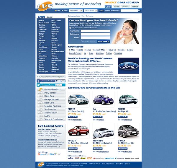 Lancaster Vehicle Solutions Website