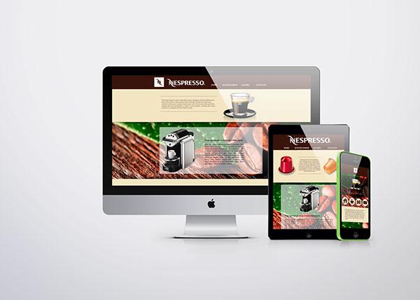 HTML Responsive tablet movil Website