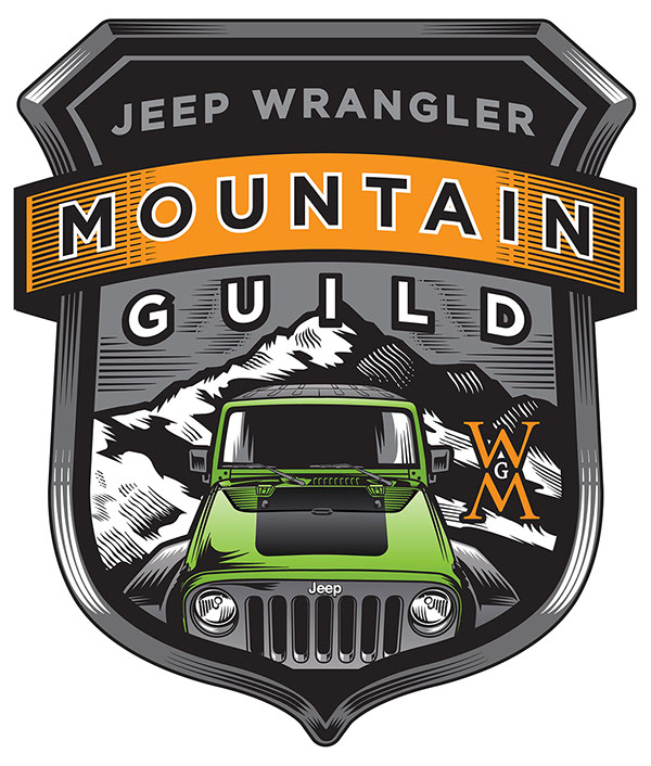 logo projects jeep wrangler and quaile ale on behance