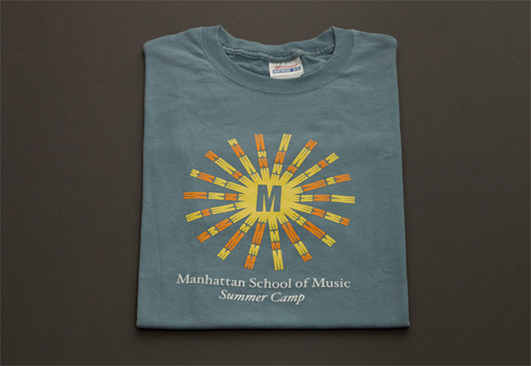 I created secondary logo of a sun built from multiple placements of the  existing logo which provided consistent branding between Manhattan School  of Music ... 36d5482e41f