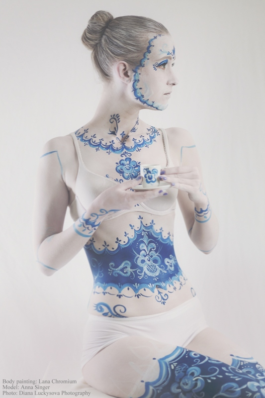 Halloween Body Painting Costumes By Lana Chromium On Behance
