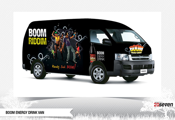 Boom Boom Energy Boom Energy Drink Campaign on