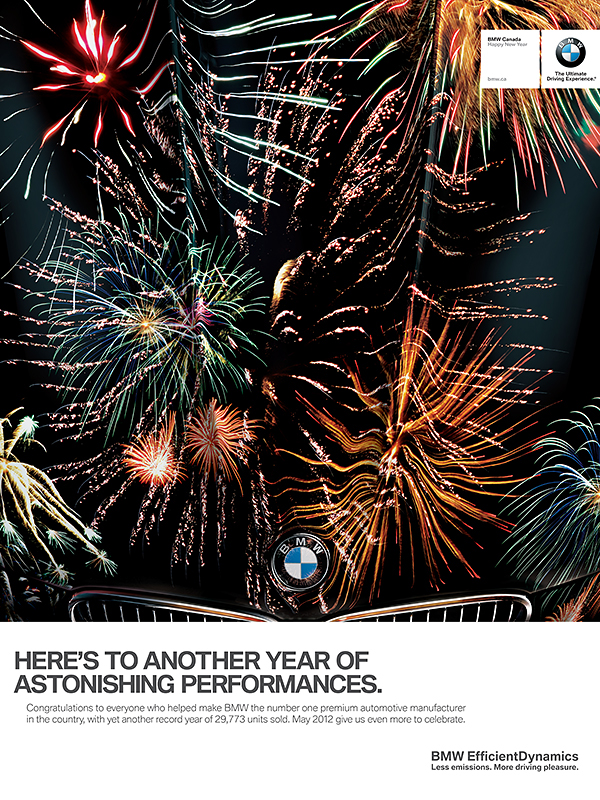 to be a nights sky filled with fireworks but you soon notice that its actually a reflection on the hood of a bmw approximate time spent 6 hour