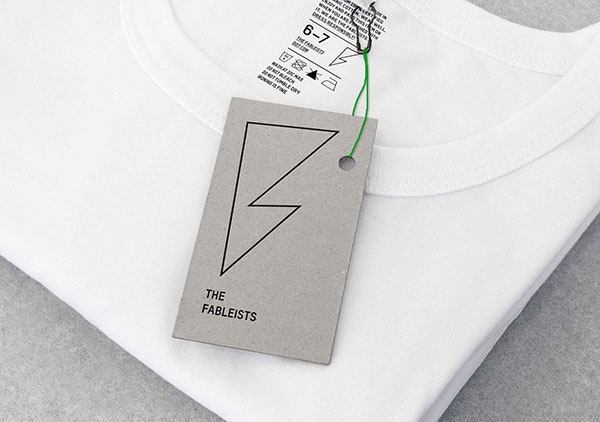 fableists Label freytag anderson brand identity package product children Clothing