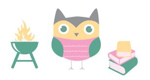 owl owl pattern indian owl baby Baby Shower invite Baby Shower Invite Invitation indian Tipi grill summer pink BabyQ books