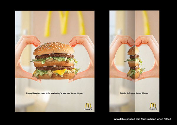 mcdonald u0026 39 s 30 years magazine ad ideas on behance