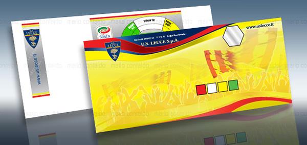 Biglietti stadio tessere abbonamento tessera tifoso pass cartellina stampa press folder season cards stadium tickets
